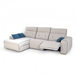 Chaise longue 2 Relax Eléctricos y USB REF.Nati 10063